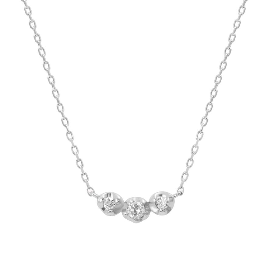 K10 ホワイトゴールド ダイヤモンド ネックレス<BR> BAPWB15939