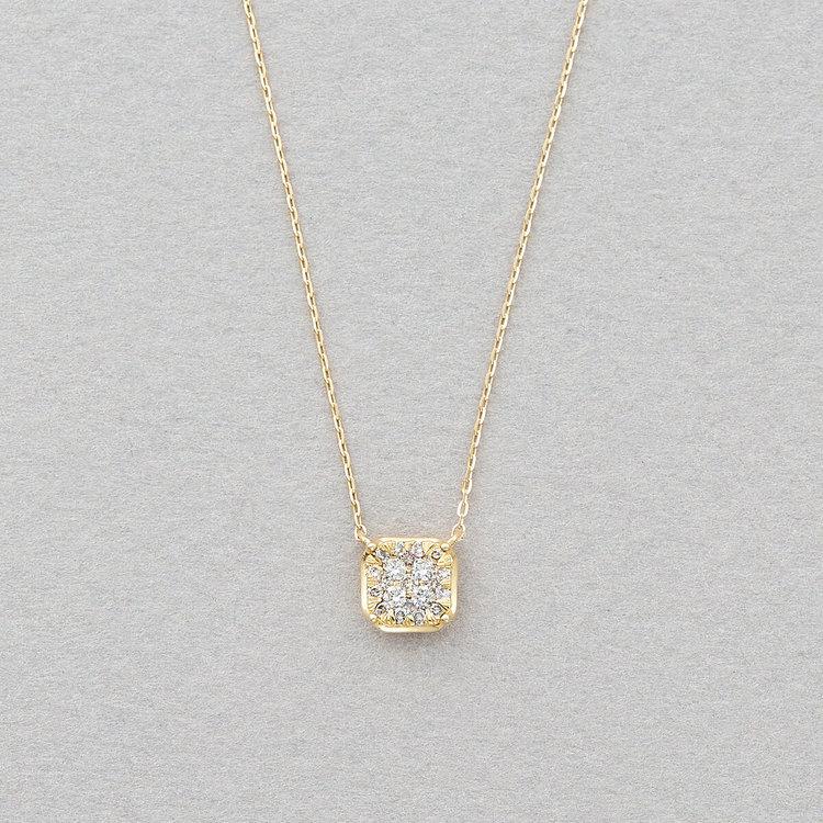 K18 イエローゴールド ダイヤモンド ネックレス<br>BGPGB2583937