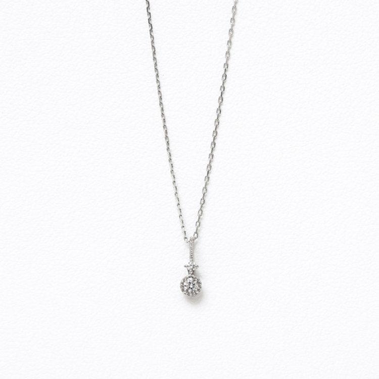 プラチナ ダイヤモンド ネックレス<br>BPP0B1093940