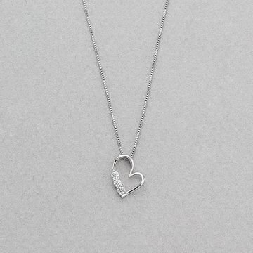 プラチナ ダイヤモンド ネックレス<鑑別カード/スコープ付><br>0442-9703-0019